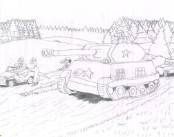 Pershing In the Ardennes by Bellumsaur