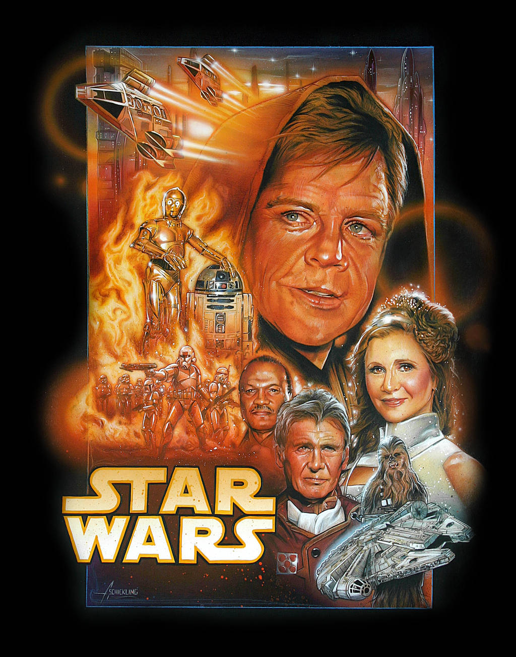 STAR WARS Episode 7 POSTER by rampantimaginationA