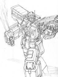 Raoul the Warrior's Railgun by biomechlizardchick