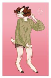Jen Goat Commision by uuzon