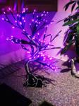 Wire LED Bonsai tree lamp wip6 by braindeadmystuff