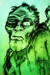 Born of the dark zombie by braindeadmystuff