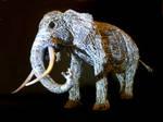 Elephant sculpture 4 by braindeadmystuff