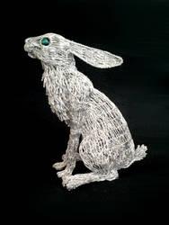 Stargazy Hare 15 by braindeadmystuff