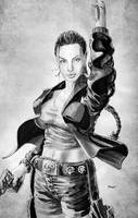 Angelina Jolie as Lara Croft by cehnot