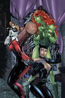 Gotham Girls colored REV by cehnot
