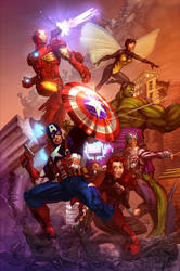 Avengers Assembled! by cehnot