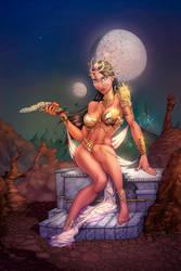 Dejah Thoris color by cehnot