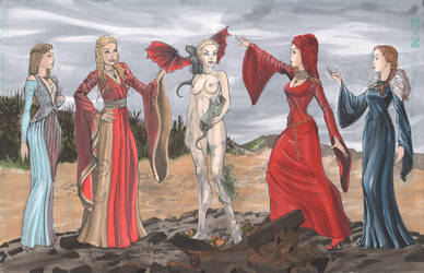 Daenerys Birth Color by cehnot
