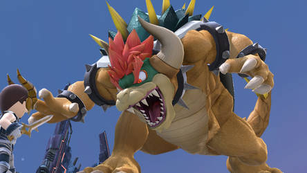 Giga Bowser appears! by ImmersionMan