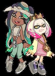 marina and pearl by Miiukka