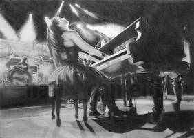 Amy Lee, the wonderful pianist! by Nati-Ev