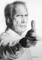 Clint Eastwood by Nati-Ev