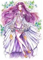 [CM] Watercolor full body art| Revelation online by Inntary