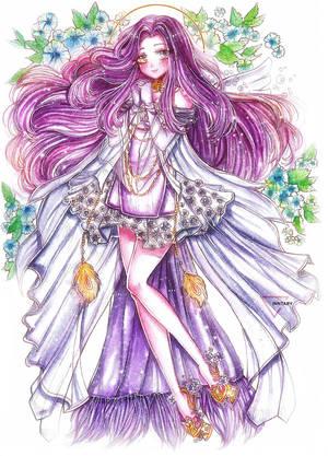 [CM] Watercolor full body art  Revelation online by Inntary