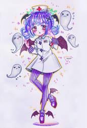 [CM] Chibi| nurse girl by Inntary