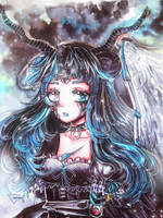 [CM] Marker art | Pandroid Lacrima by Inntary