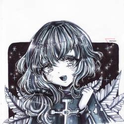 [CM] Marker art   Arai Ryushi by Inntary