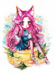 [AT] Watercolor chibi by Inntary