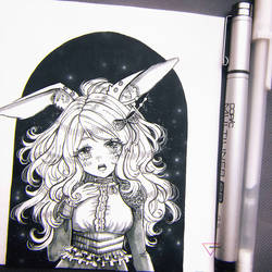 Marker + Ink art - lottery prize by Inntary