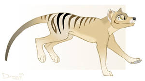 Another Thylacine by SarityCreations