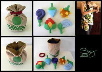 SOLD Zelda: Oracle of Seasons Seed Satchel by SarityCreations