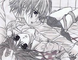 yuki and zero by Anime019se