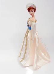 Grand Duchess Anastasia Doll Repaint | Full Body by the-art-of-claude