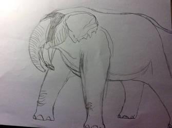 Downward Facing Tusk by Dinomaster337