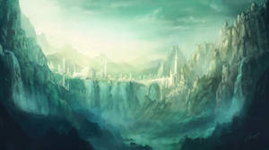 The Emerald Veil - Home of the Amazons by Lionel23