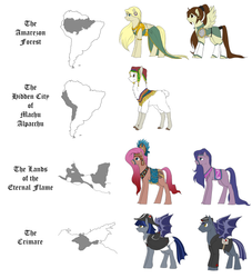 Equestria Expanded: The Lands of Legends and Myths by Lionel23