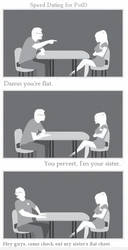 Speed Dating - My Sister's Flat Chest by dartfu