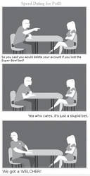 Speed Dating for PotD - We Got a Welcher by dartfu
