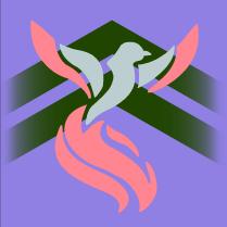 Guild Wars 2 Guild Emblem: Phoenix by dartfu