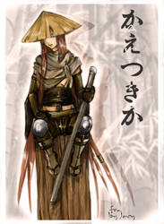 Arisa samurai girl by Jacy-j
