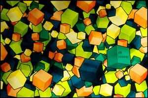 Cubism: On Repeat by Saiyuki989