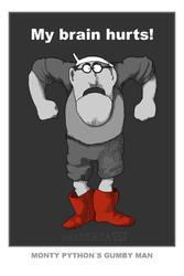 GUMBY MAN by resMENSA