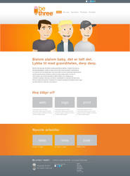BeThree Web Design by pettermyhr