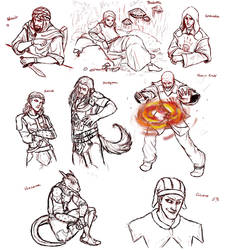 Dark Brotherhood of Skyrim by ankalime