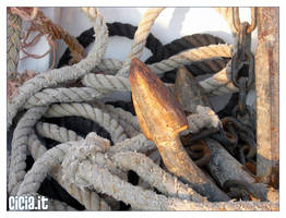 On the boat III by Cicia
