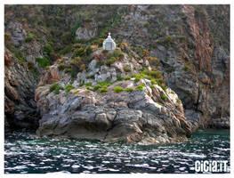 Una preghiera in mezzo al mare by Cicia