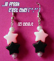 Star Earrings I by Cicia