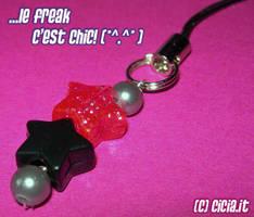 Stars phone strap I by Cicia