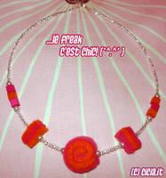 Felt Necklace I by Cicia
