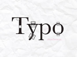 Typo attachment. by AmySimply