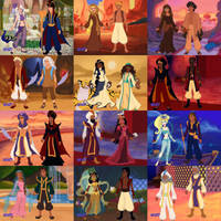 Arabian Nights Yu-Gi-Oh by katerinaaqu