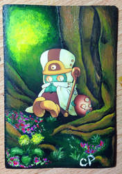Extended forest art by MaddellynnRose