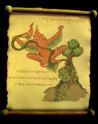 Garuda and Naga by SiamJai