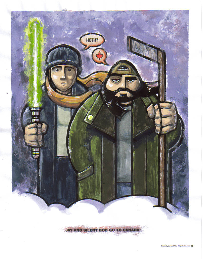 Jay and Silent Bob - Colouring Contest by ozwalled