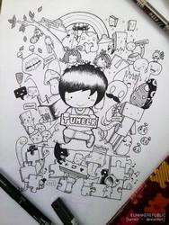 doodle : tumblr by eunhaerepublic
